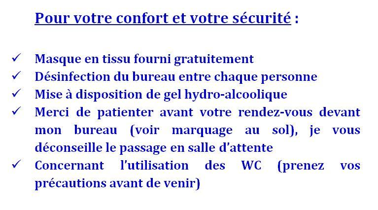 Confort et securite 1