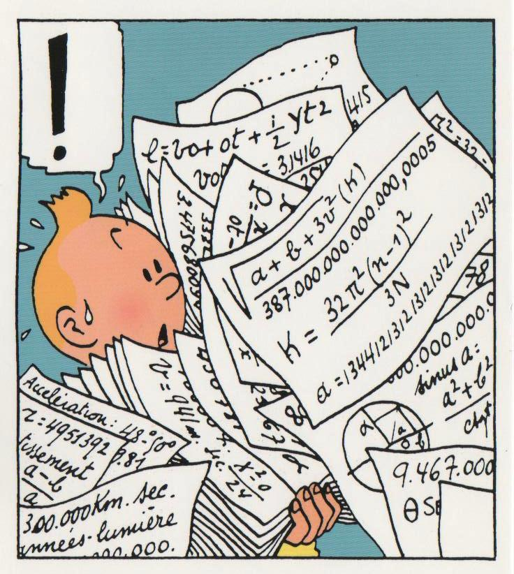 Tintin maths